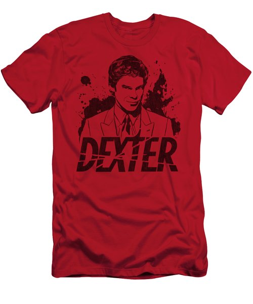 Dexter - Splatter Dex Men's T-Shirt (Athletic Fit)