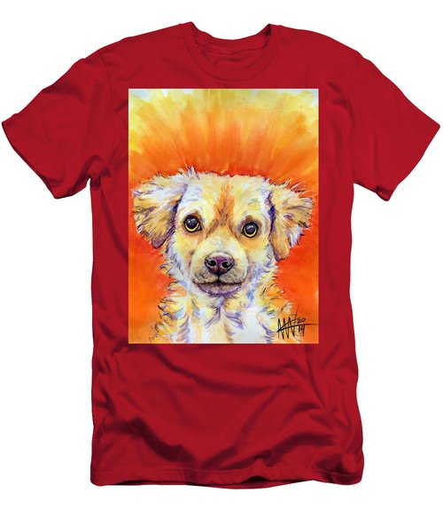 Men's T-Shirt (Athletic Fit) featuring the painting Diesel by Ashley Kujan