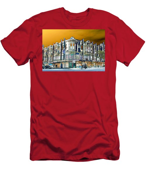 Downtown Los Angeles Corner Facade Men's T-Shirt (Athletic Fit)