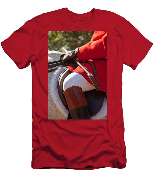 Dressed Rider Men's T-Shirt (Athletic Fit)