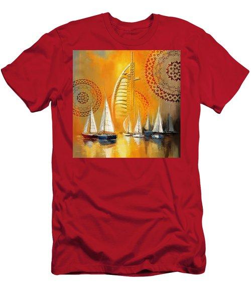 Dubai Symbolism Men's T-Shirt (Athletic Fit)