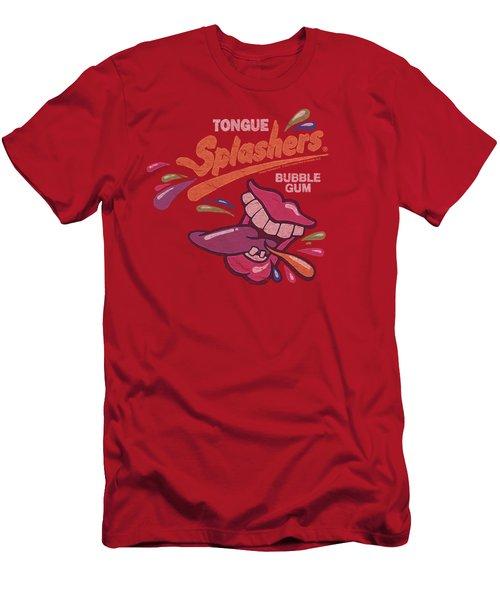 Dubble Bubble - Distress Logo Men's T-Shirt (Athletic Fit)