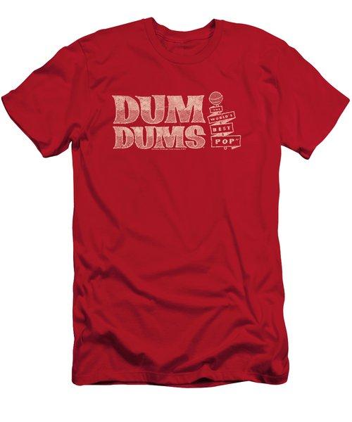 Dum Dums - World's Best Men's T-Shirt (Athletic Fit)