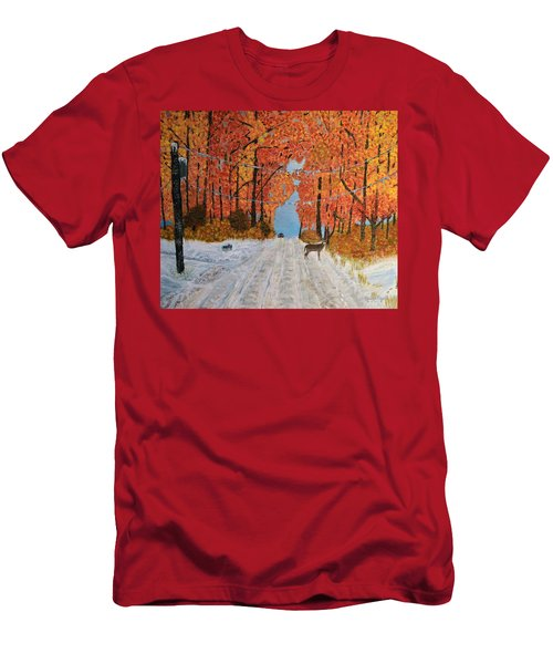 Early Snow Men's T-Shirt (Athletic Fit)
