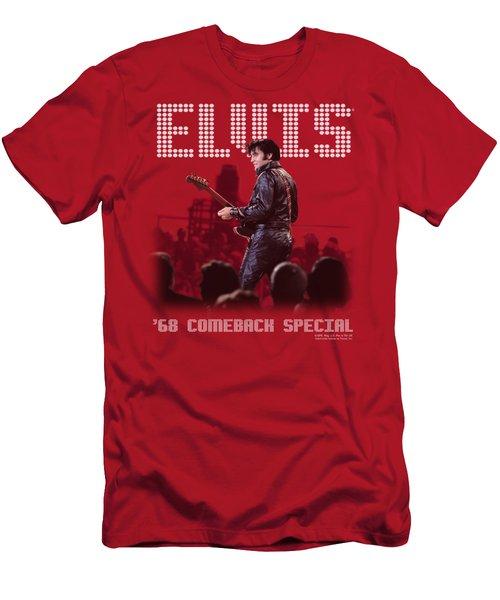 Elvis - Return Of The King Men's T-Shirt (Athletic Fit)