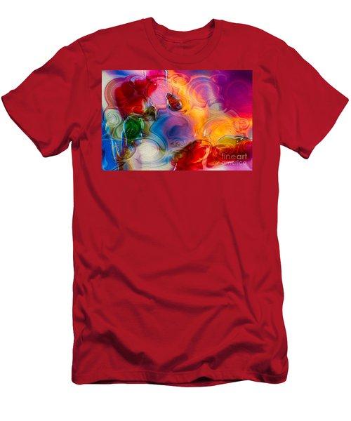 Enchanting Flames Men's T-Shirt (Athletic Fit)