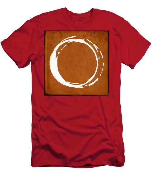 Enso No. 107 Orange Men's T-Shirt (Athletic Fit)