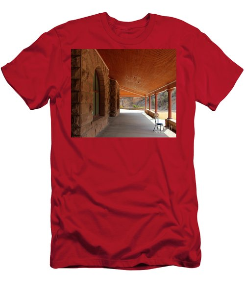 Evans Porch Men's T-Shirt (Athletic Fit)