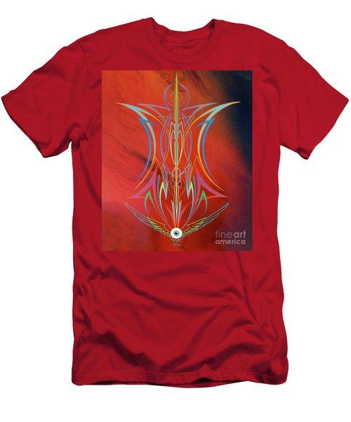 Eye Flying Men's T-Shirt (Slim Fit) by Alan Johnson