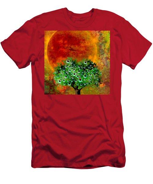 Eye Like Apples Men's T-Shirt (Slim Fit) by Ally  White