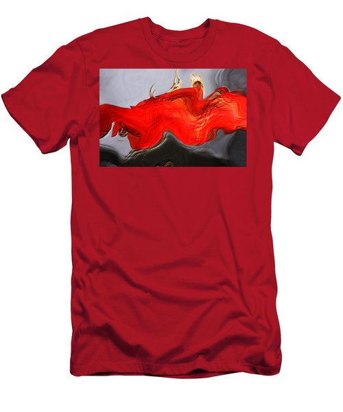 Men's T-Shirt (Slim Fit) featuring the digital art Eye Of The Beholder by Richard Thomas