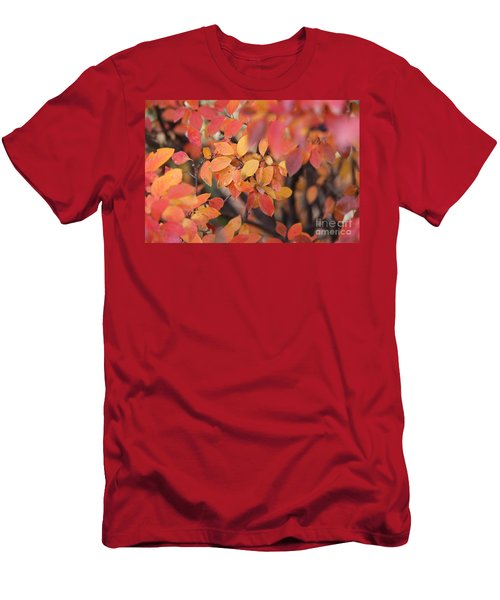 Men's T-Shirt (Athletic Fit) featuring the photograph Fall by Ann E Robson