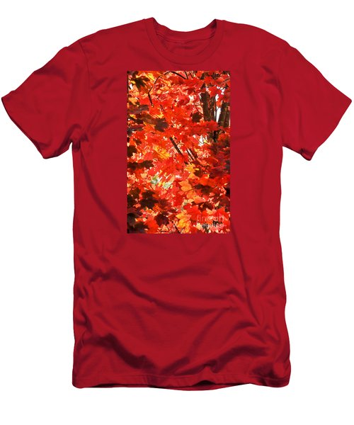 Men's T-Shirt (Athletic Fit) featuring the photograph Fall by David Perry Lawrence