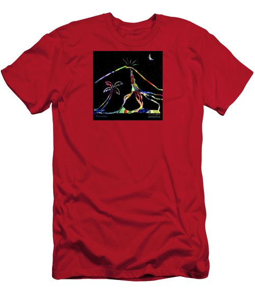 Lava Flow Men's T-Shirt (Athletic Fit)