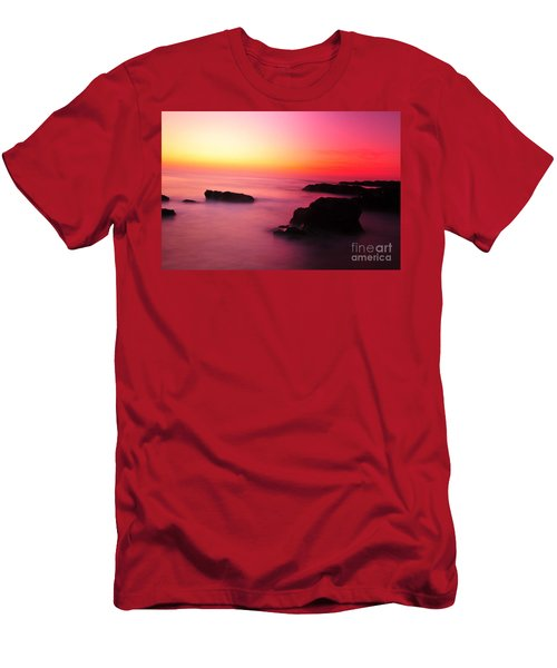 Fine Art - Pink Sky Men's T-Shirt (Athletic Fit)