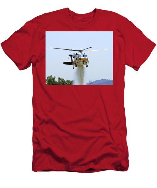 Fire Hawk Water Drop Men's T-Shirt (Slim Fit) by Shoal Hollingsworth