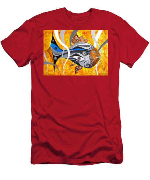 Fish Xi - Marucii Men's T-Shirt (Athletic Fit)