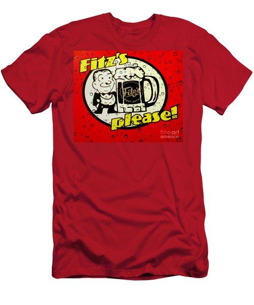 Fitz's Please All Wet Men's T-Shirt (Athletic Fit)