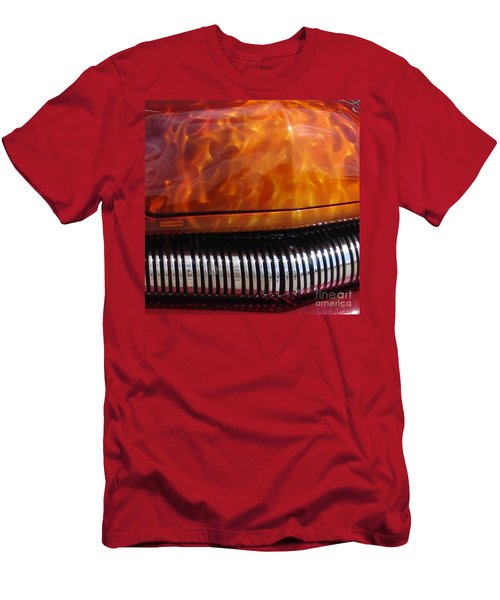 Flame Rod 1 Squared Men's T-Shirt (Athletic Fit)