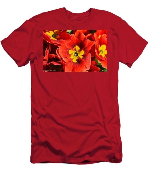 Flamenco Look Men's T-Shirt (Athletic Fit)