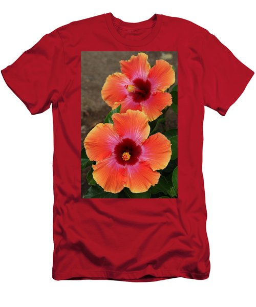 Floral Beauty 2  Men's T-Shirt (Athletic Fit)