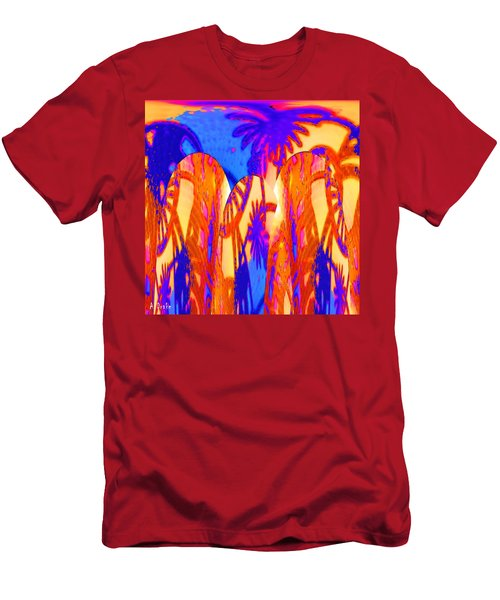 Florida Splash Abstract Men's T-Shirt (Athletic Fit)