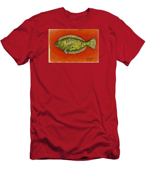 Flounder Men's T-Shirt (Athletic Fit)