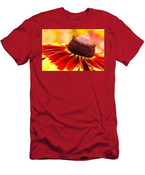 Black Eyed Susan Hybrid Men's T-Shirt (Athletic Fit)