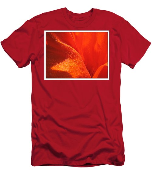 Peace And Death Flower Men's T-Shirt (Athletic Fit)