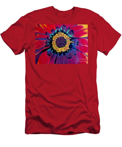 Flowerburst Men's T-Shirt (Athletic Fit)