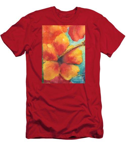 Flowers In Bloom Men's T-Shirt (Slim Fit) by Chrisann Ellis