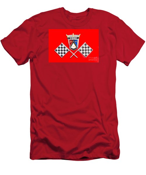 Ford Emblem Men's T-Shirt (Athletic Fit)