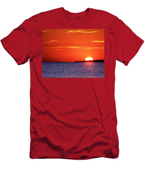Fort Story Sunrise Men's T-Shirt (Athletic Fit)