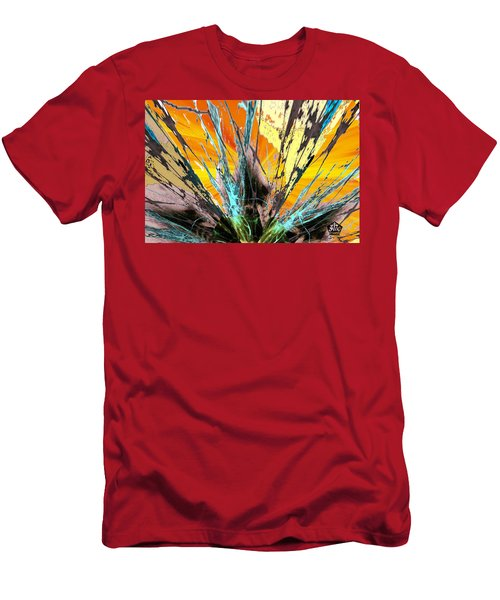 Fractured Sunset Men's T-Shirt (Athletic Fit)