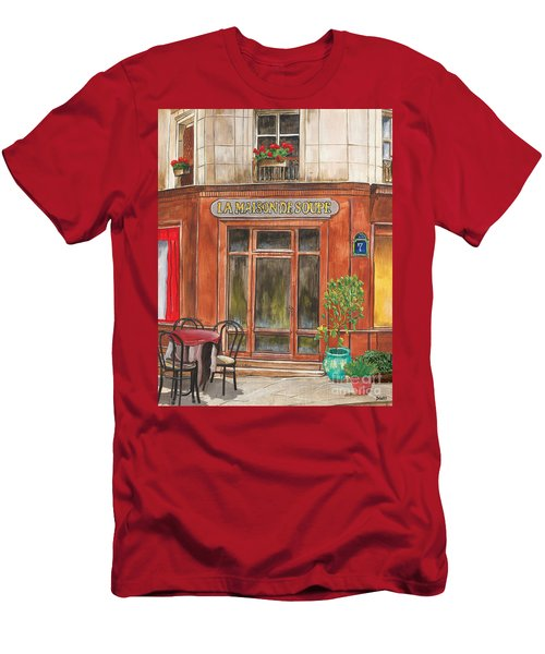 French Storefront 1 Men's T-Shirt (Athletic Fit)