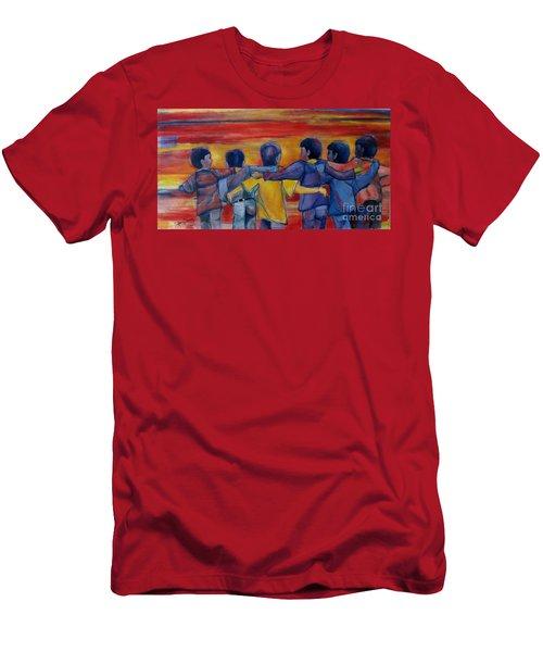 Friendship Walk - Children Men's T-Shirt (Athletic Fit)