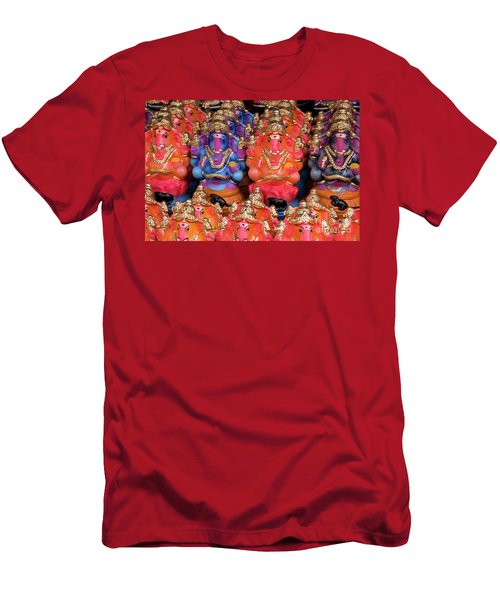Ganesha Plastiki 01 Men's T-Shirt (Athletic Fit)