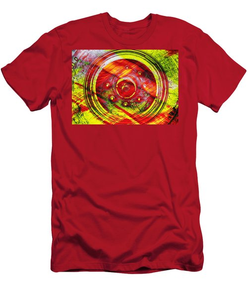 Geometric Colors  Men's T-Shirt (Athletic Fit)