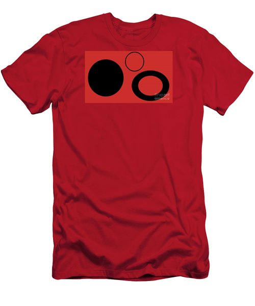 Men's T-Shirt (Slim Fit) featuring the photograph Geometric Shape Abstract 37 by Tina M Wenger