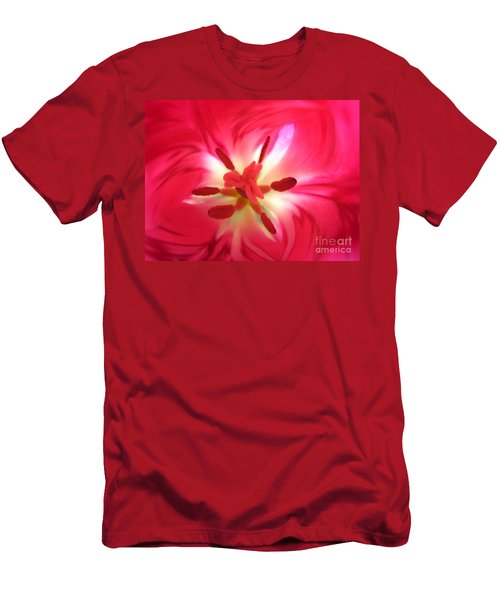 God's Floral Canvas 1 Men's T-Shirt (Athletic Fit)
