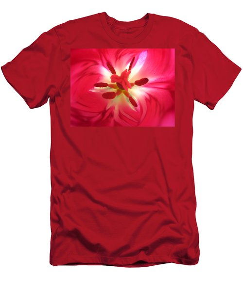 God's Floral Canvas 2 Men's T-Shirt (Athletic Fit)