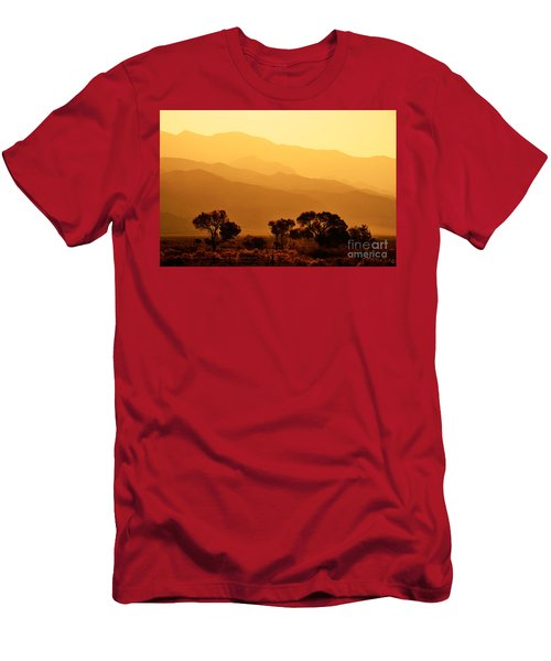 Golden Mountain Light Men's T-Shirt (Athletic Fit)