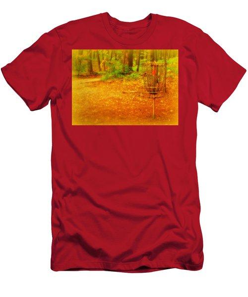 Golden Target Men's T-Shirt (Athletic Fit)