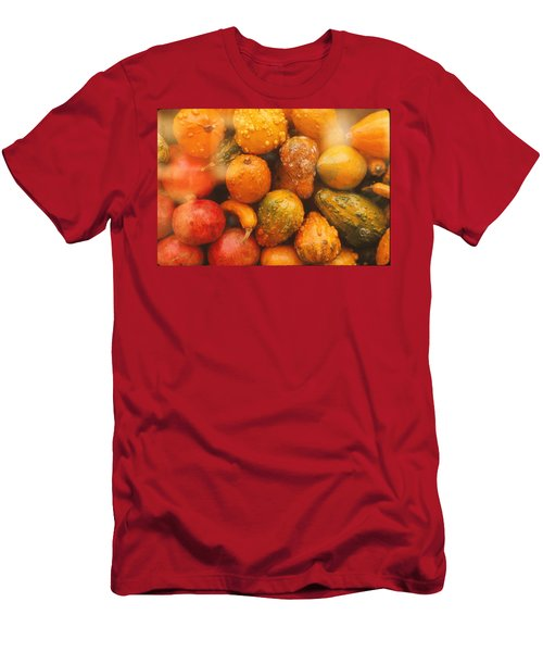 Men's T-Shirt (Slim Fit) featuring the photograph Gorgeous Gourds by Ira Shander
