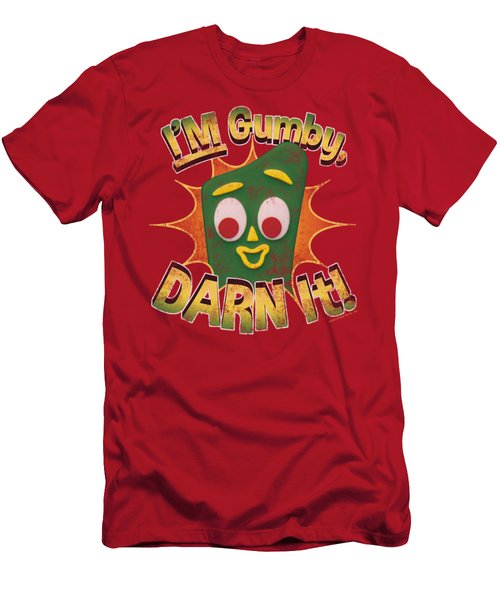 Gumby - Darn It Men's T-Shirt (Athletic Fit)