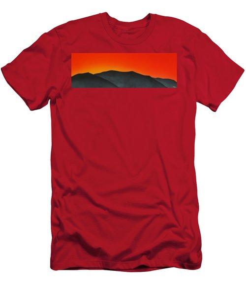 Hakarimata Sunset Men's T-Shirt (Athletic Fit)