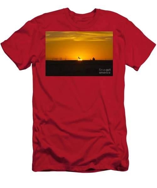 Hammering The Sun Men's T-Shirt (Athletic Fit)