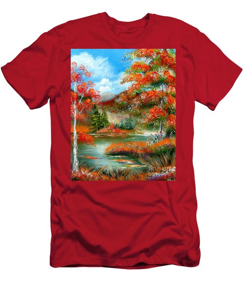Happy Ever After Autumn  Men's T-Shirt (Athletic Fit)