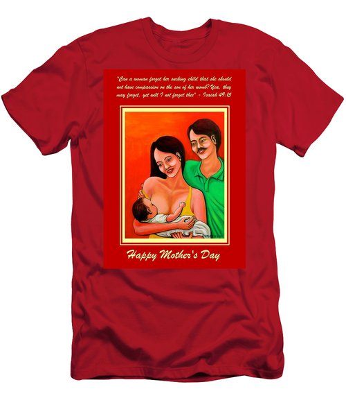 Happy Family Men's T-Shirt (Slim Fit) by Cyril Maza