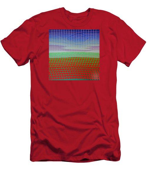 Heart Fields Again Men's T-Shirt (Athletic Fit)